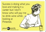 SomeECards Wine and Pinterest