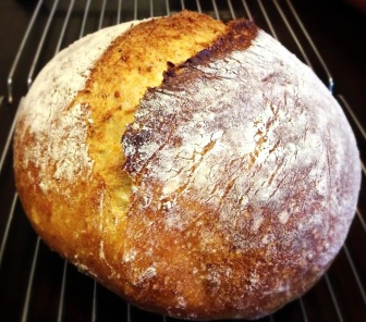 The Best Bread Ever (in a Crock Pot or Dutch Oven) via She Wines Sometimes