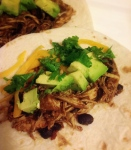 Chicken and Black Bean Tacos via She Wines Sometimes