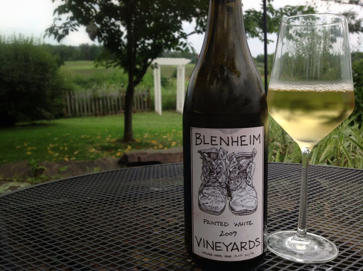 Wine Wednesday - Blenheim Vineyards Painted White 2009